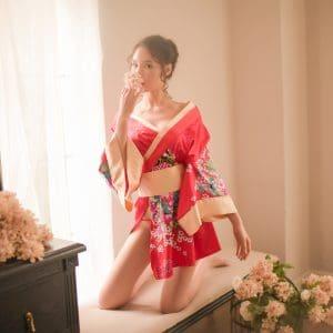和風美人 · 日式和服浴衣日式和服極度誘惑角色扮演